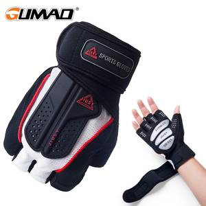Gloves Dumbbell Weight-Lifting Exercise Training Fitness Gym Half-Finger Sports Building