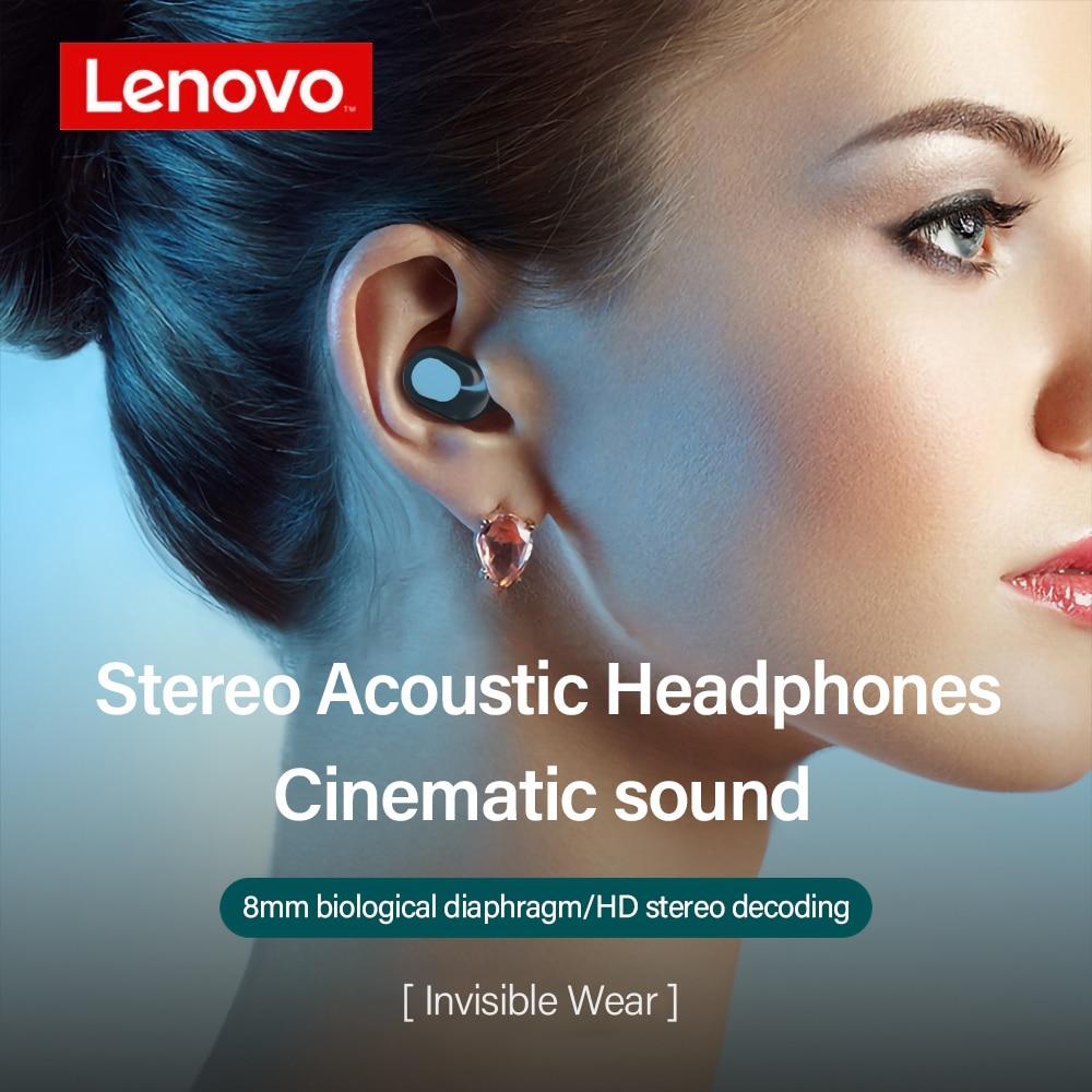 Originele Lenovo XT91 Tws Oortelefoon Draadloze Bluetooth Hoofdtelefoon Ai Controle Gaming Headset Stereo Bass Met Mic Ruisonderdrukking 4