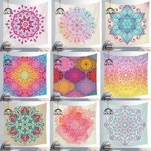 Hint Mandala Polyester goblen duvar asılı halı atmak Yoga Mat kumlu plaj atmak kilim battaniye yatak serme yatak
