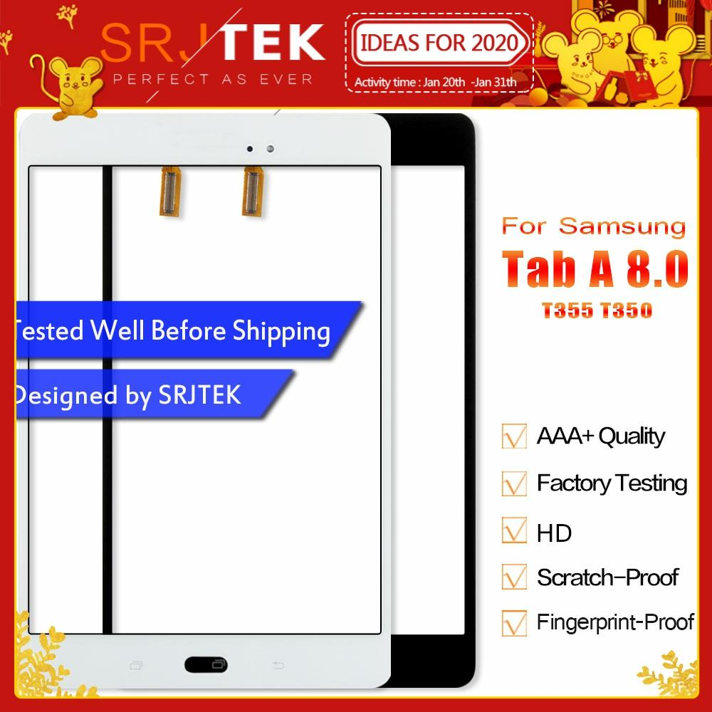 Srjtek Parts For Samsung Galaxy Tab A 8.0 T355 T350 SM-T355 SM-T350 Touch Screen Digitizer Sensor Glass Panel Tablet Replacement