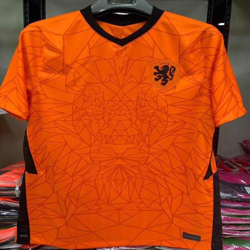 2019 2020 NetherlandsES Soccer Jerseys DE JONG VAN DIJK VIRGIL 2020 DE LIGT MEMPHIS Van Basten Football Shirts