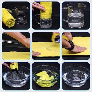 Image 3 - 3/5/10 Stuks Extra Zachte Wasstraat Microfiber Handdoek Car Cleaning Drogen Doek Car Care Doek Detaillering Auto Washtowel nooit Scrat