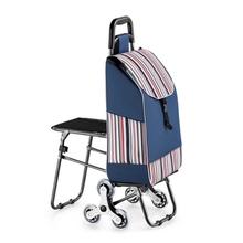 Trolley shopping cart Wheels Woman Shopping Cart shopping basket Household shopping bag Trolley Trailer Portable cart foldable cheap Canvas CN(Origin) 3 2 kg 54 cm Carry-Ons 20 cm Spinner 32 cm FAN9 Luggage Unisex