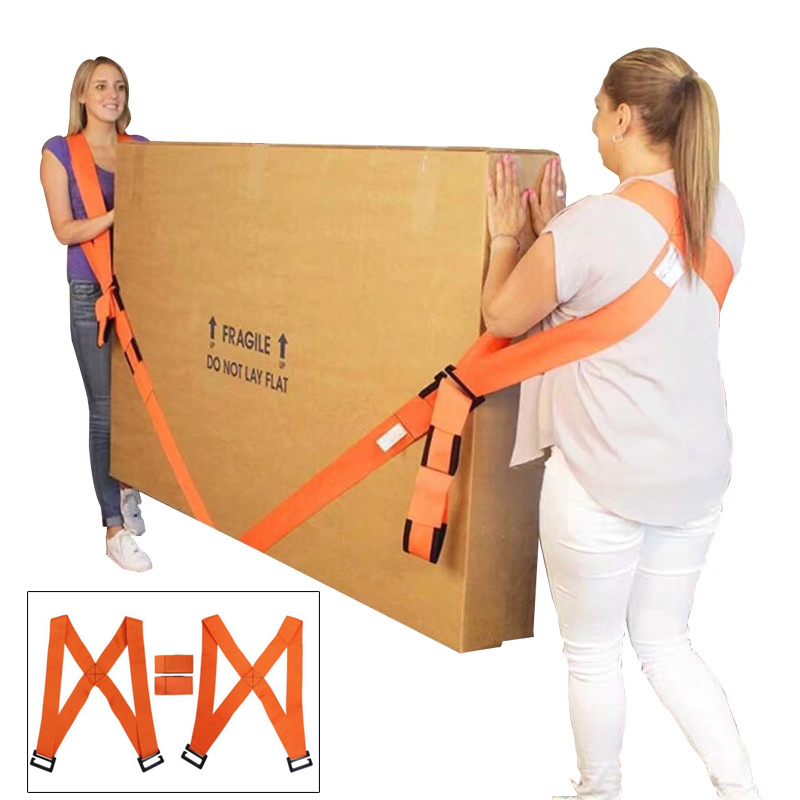 High Quality Forearm Forklift Lifting Moving Strap Transport Belt Wrist Straps Furniture For Home Move House Convenient Tools