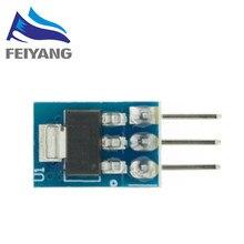 Alta Qualidade 5PCS 5V a 3.3V Para DC-DC Step-Down Power Supply Module Fanfarrão AMS1117 LDO 800MA