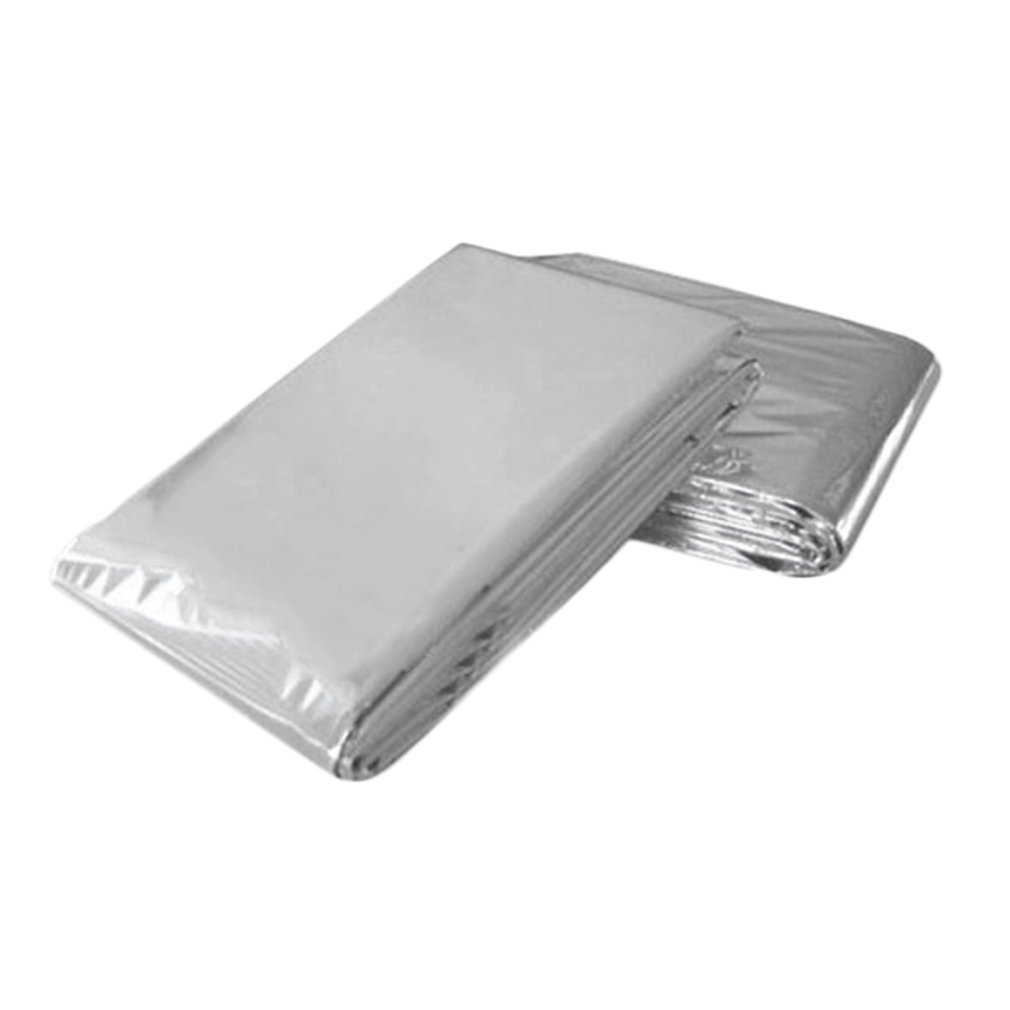Cold-proof Military First Aid Emergency Blanket Survival Rescue Curtain Outdoor Life-saving Tent Reusable Sleeping Bag 130*210cm