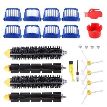 цена на Replacement Parts kit for iRobot Roomba 600 Series 610 620 625 630 650 660 Vacuum Cleaner Main Roller Brush + Aero Vac Filter