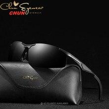 Мужские поляризационные солнцезащитные очки M223, зеркальные очки для вождения из алюминиево магниевого сплава, модные очки для вождения