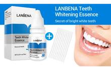 Lanbena dentes clareamento higiene oral dentes clareamento essência dente branqueamento dental creme dental essência líquido cuidados orais