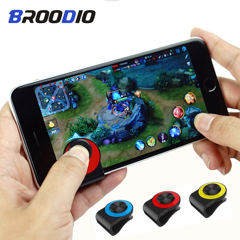 1Pc Mini Touch Screen Stick Game Joystick Joypad For Smartphone Ipad Tablet US