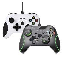 Consolas con cable USB para Xbox One, Mando limitado para Xbox One, Control Delgado, PC, Windows
