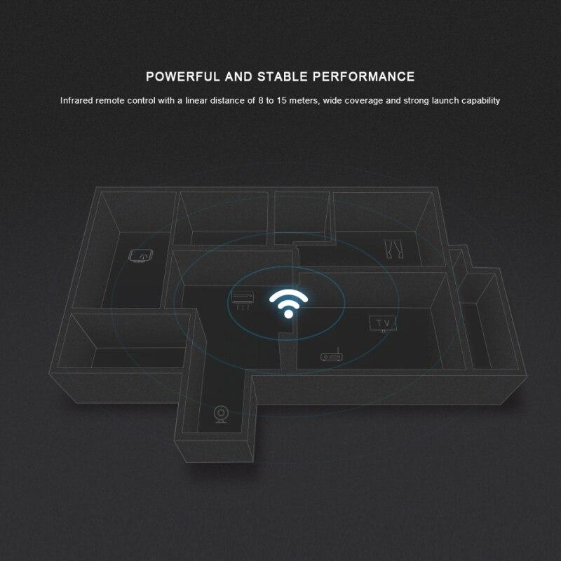 שלט רחוק Wifi IR תומך אלכסה Broadlink RM4C Mini 2
