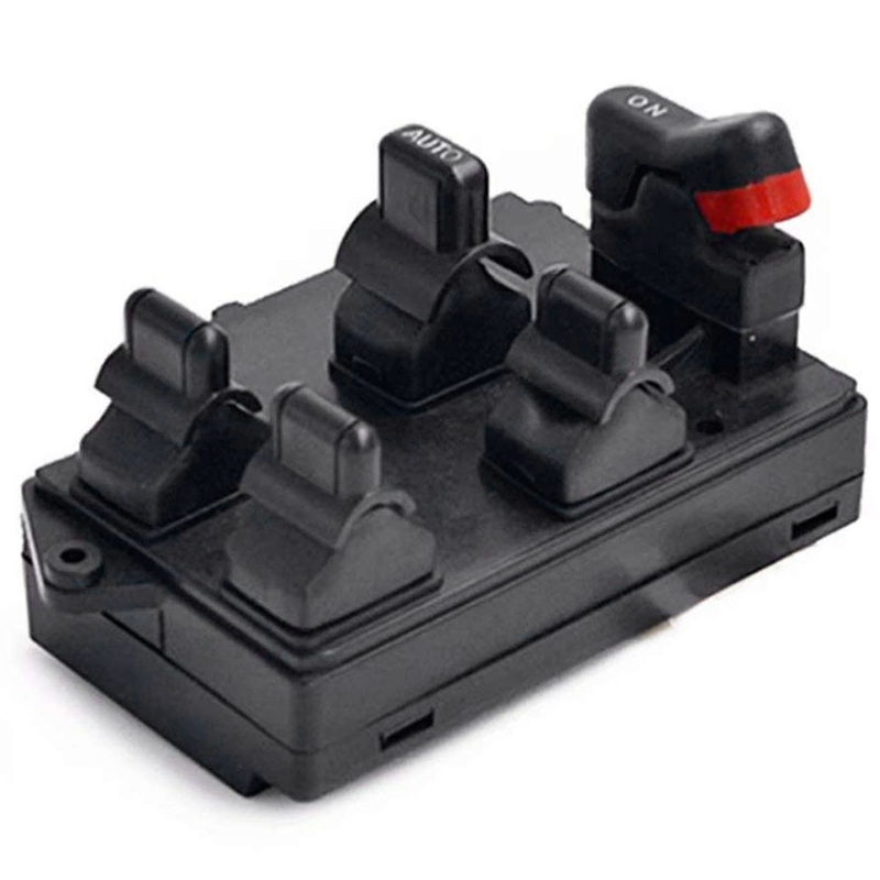 Power Window Master Switch Replace For Honda Accord DX Sedan EX Sedan LX Wagonn 1994-1997 35750-SV1-A01 Front Left Driver Side P