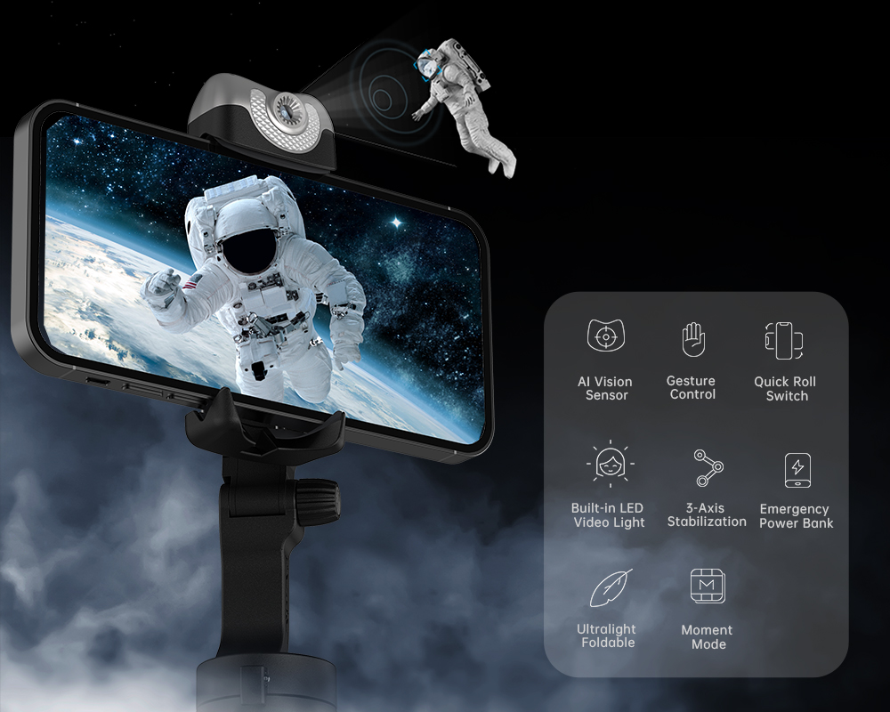 Hohem iSteady V2 AI Smartphone Gimbal 5