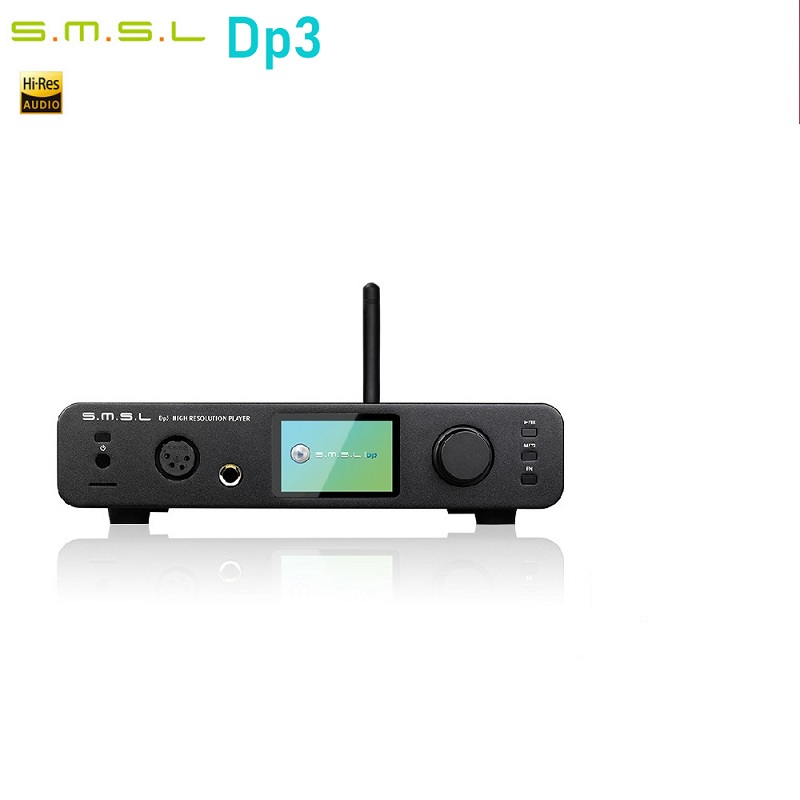 Image 2 - SMSL DP3 Hi Res USB Decoder Amplifier Balanced  Digital ES9018Q2C DAC two way Bluetooth 4.0/WIFI/ DSD LAN Network DAC USB AudioDesktop Digital Music Player   -