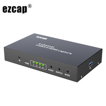 Video-Capture-Card Game-Record Seamless-Switch Audio Live-Streaming-Box HDMI USB 4x1