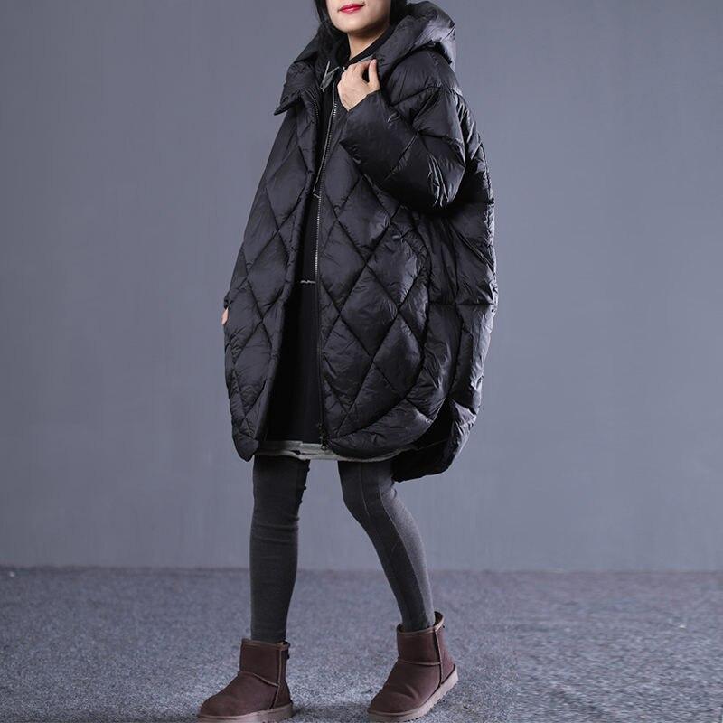 Casulo Casaco coreano Mulheres Jaqueta de Inverno Parka Com Capuz Longo Outwear Plus Size de Algodão Acolchoado Roupas abrigos mujer invierno f1568