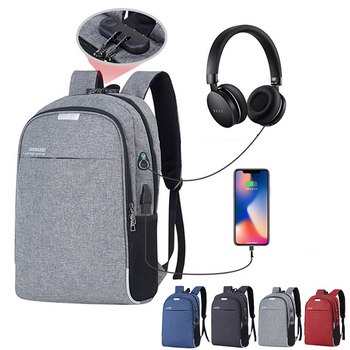 bopai laptop backpack external usb charge port for 15 6 inch computer backpacks anti theft waterproof bags for men drop shipping 2020 New Laptop Backpack USB Charging 15.6 inch Anti Theft Women Men School Bags For Student  High Quality  Men's Bag 0P51