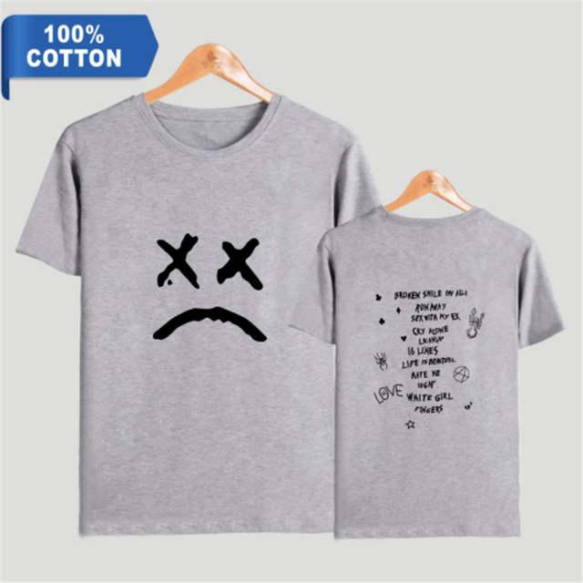 100 Cotton Lil Peep T Shirts Print Women Men Harajuku Clothes New Hot Sale Summer Short Sleeve Kpops T Shirts Fashion 4xl On Aliexpress