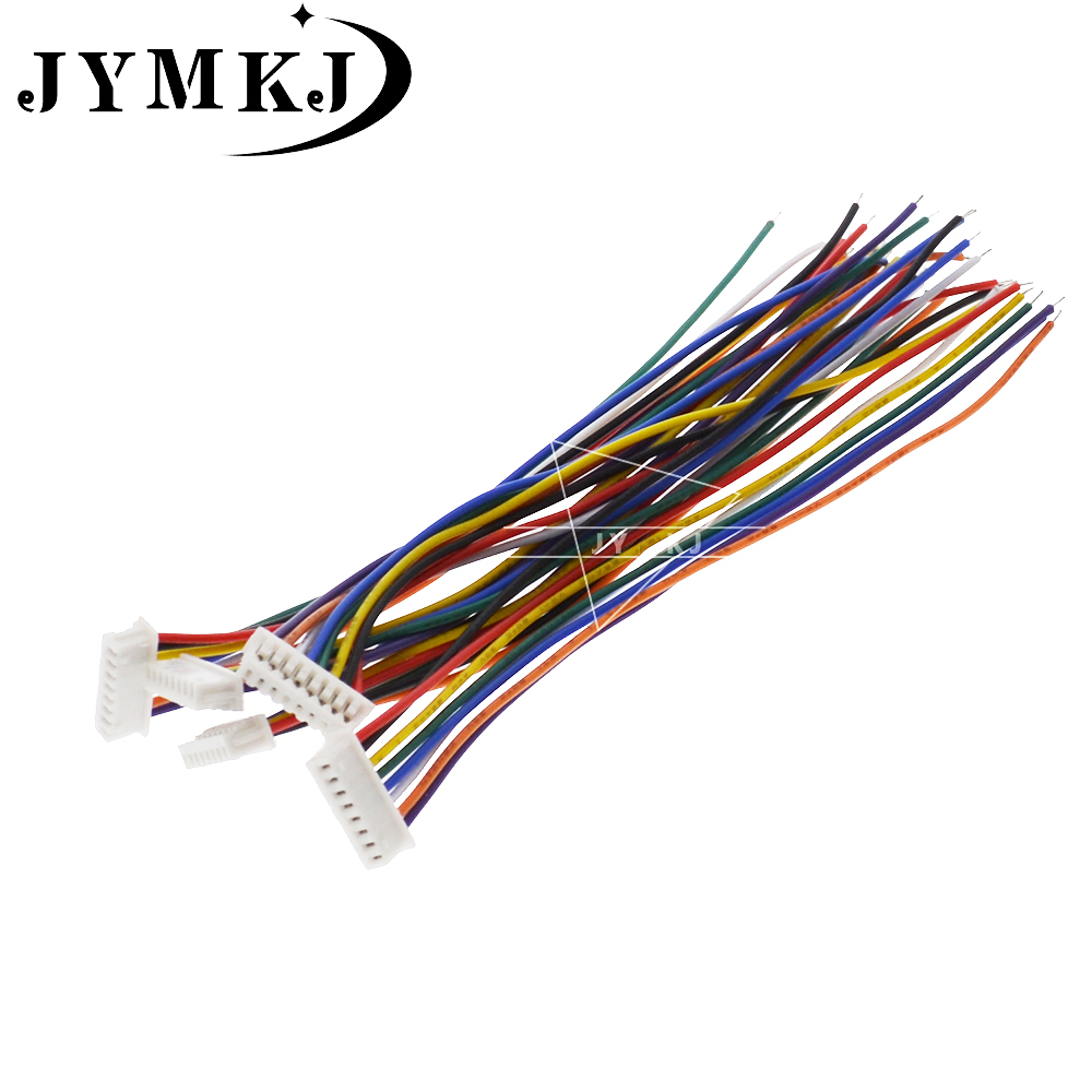 JST XH 1.25 JST1.25mm Wire Cable Connector 2/3/4/5/6/7/8/9/10 Pin Pitch Female Plug Socket 10/15cm Wire Length 28AWG