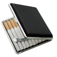 Модный дизайнерский кожаный Карманный чехол для сигарет и табака
