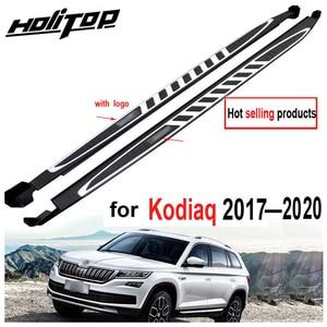 Image 1 - Running board side step nerf bar para Skoda Kodiaq 2017 2018 2019 2020, suministrado por la fábrica ISO9001, recomendado, precio de promoción