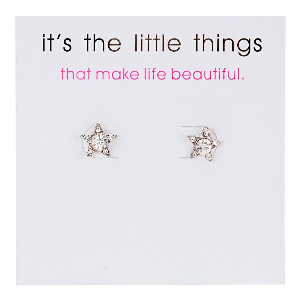 12 Pairs/set Stud Earrings Set With Card Transparent Zircon Balls Love Flowers Earrings Women Imulated Pearl Earrings Jewelry 70