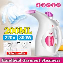 800W Fast Heat Up Garment Steamer Mini Household Electric Steam Iron Machine Clothes Steamers 220V