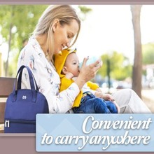 Diaper-Bag Nappy Mommy Bottle Breast-Milk-Cooler-Bag Baby Waterproof Portable New Insulated