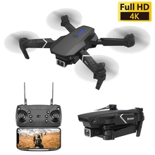 Drone Dual Cameras WIFI FPV With Wide Angle HD 4K Camera Hight Hold Mode Foldable Arm RC Quadcopter Drone Dron For Kids Gifts
