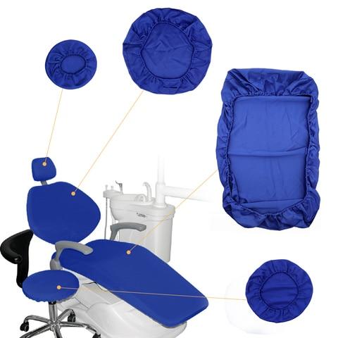 4 pcsset tampa da cadeira odontologica unidade