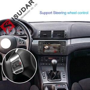 Image 4 - Isudar 1 Din Автомобильный мультимедийный плеер Android 10 GPS Авторадио Стерео система для BMW/E46/M3/Rover/3 серии RAM 4G ROM 64GB fm радио