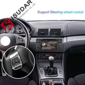 Image 4 - Isudar 1 Din Car Multimedia player Android 10 GPS Autoradio Stereo System For BMW/E46/M3/Rover/3 Series RAM 4G ROM 64GB FM Radio