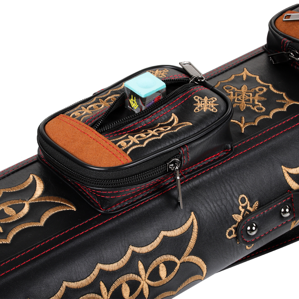 New Arrival KONLLEN Professional Handmade Billiard Pool Cues Case 6/8 Holes Leather Handle Two Options Bag Billiard Accessories