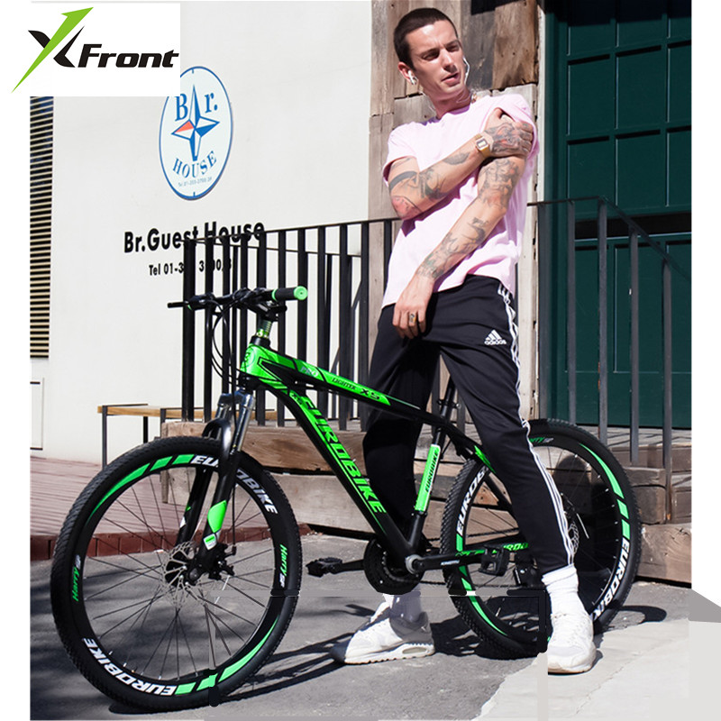 New Mountain Bike Aluminum Alloy Frame 24/26/27.5 Inch Wheel 27 Speed Dual Disc Brake Bicycle Outdoor Sports MTB Bicicleta