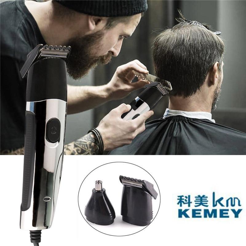 Kemei Professional Electric 2 IN 1 Nose Trimmer Hair Clipper Trimmer Shaver Razor Salon Clipper For Men KM-522B