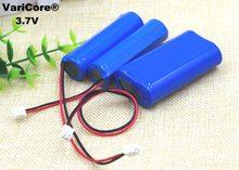 3,7 v 18650 литий-ионный аккумулятор 2600 mah 5200 mah Angeln светодиодный Licht Bluetooth Lautsprecher 4,2 v Notfall DIY batterien + schutz