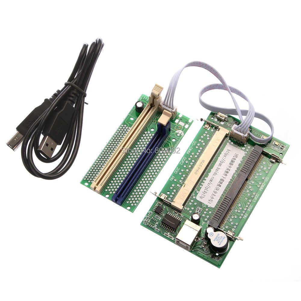หน่วยความจำใหม่โปรแกรมเมอร์ SPD/EP burning รุ่น burner สนับสนุน DDR2/DDR3 หน่วยความจำ burner สำหรับเดสก์ท็อปพีซี