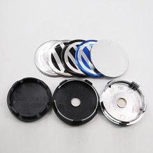 4 pces 20 pces 40 pces 100 56mm 60mm logotipo do carro emblema roda centro hub tampa aro auto reequipamento emblema cobre adesivo estilo acessórios