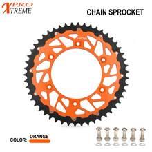 Cadeia Roda Dentada Traseira da motocicleta Para KTM SX EXC MXC SXS XC-W SX-F EXC-F XC-F XCF-W XC-W SMR 125 150 200 250 300 350 450 520 525