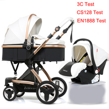 Belecoo Baby Stroller 3 in 1 Baby Trolley Baby