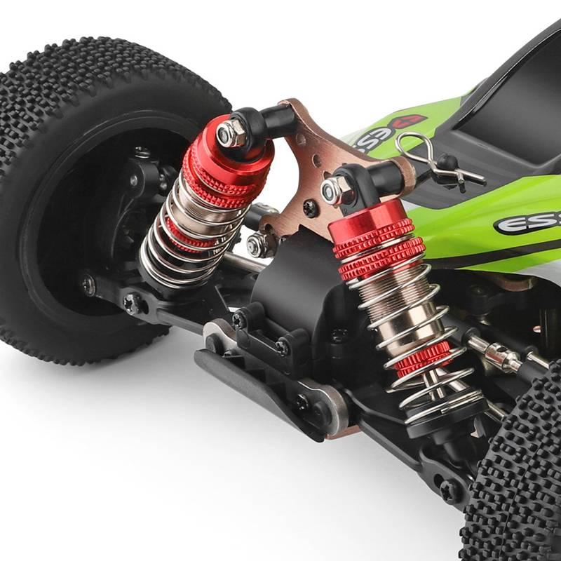 Di Alta Qualità Wltoys 144001 1/14 2.4G di Controllo Remoto Rc Auto 4WD Ad Alta Velocità da Corsa Modelli di Veicoli 60Km/H Dei Bambini regalo Giocattoli - 5