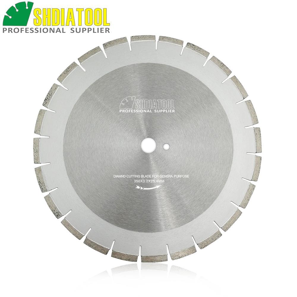 """SHDIATOOL 14 """"/ 350MM nelja kaitsesegmendiga professionaalsed teemantterad teemantsae ratta betoonist lõikeketta jaoks"""