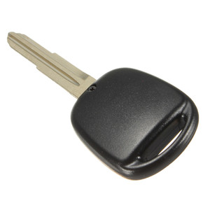 Image 3 - 2 Buttons Lock and Unlock Remote Key Fob Shell Rubber Pad Switch Blade Key Case Black Repair Replacement Cover For Toyota Yaris