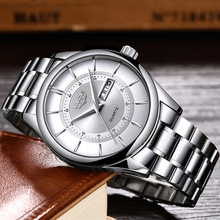 2020 LIGE Men Watches Top Luxury Brand Sport Quartz Watch Men Chronograph Waterproof Wrist Watch Man Stainless Steel Date Clock цена и фото