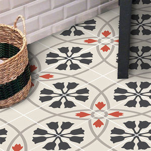 Retro Floor Tiles Wall Sticker