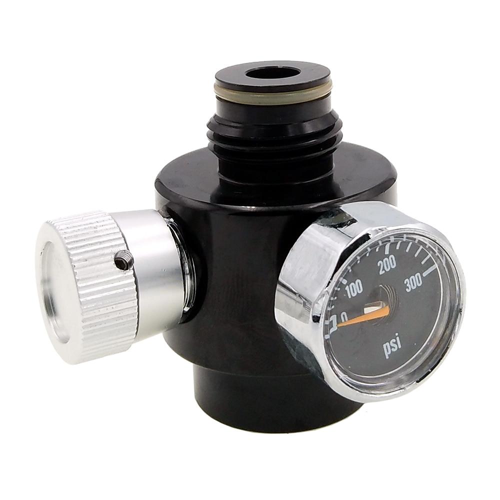 Paintball Airsoft BB GUN Regulator For Co2 & HPA Pressure Control Adjustable Range 0-200psi
