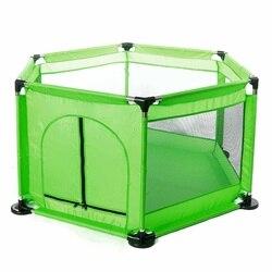 Große 130cm Kinder Baby Laufstall Spielhaus Montage Indoor Outdoor Kleinkind Spiel Ball Pool Zelt Spielplatz Baby Sicherheit Zaun