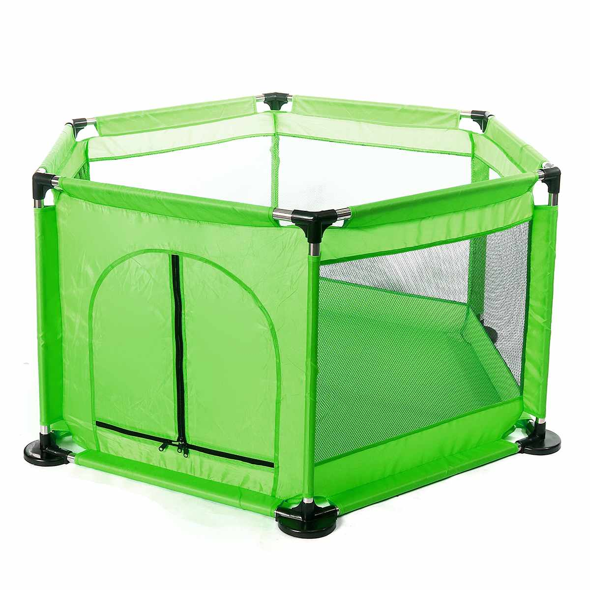 Large 130cm Children Baby Playpen Playhouse Assembly Indoor Outdoor Toddler Game Ball Pool Tent Playground Baby Safety Fence