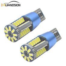 2PCS 3W T10 W5W Canbus LED Car Turn Side Marker Lamp WY5W 501 168 192 LED Auto Wedge Parking Bulb Car Styling Light 12-24V AC/DC цена 2017